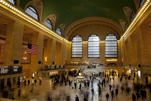"Grand Central Station, according to Michael Kimmelman ""an ennobling experience, a gift."" © gmacfadyen"