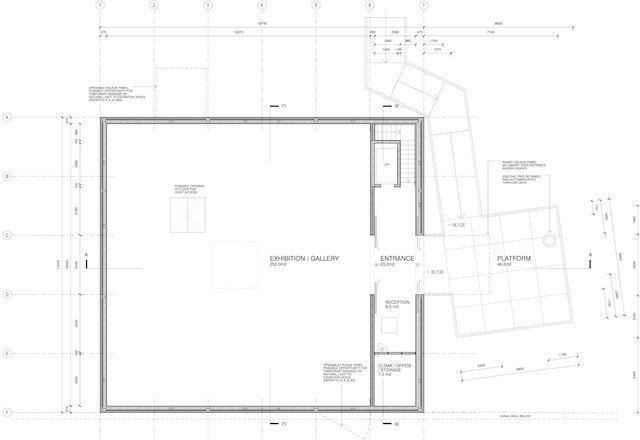 D Exhibition Floor Plan : Gallery of australian pavilion for venice biennale winning