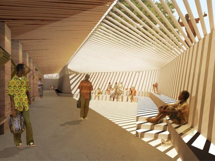 1st prize - Courtesy of Diébédo Francis Kéré, Kéré Architecture