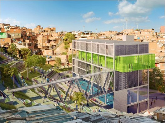 22nd prize - Courtesy of Alfredo Brillembourg and Hubert Klumpner, Urban Think Tank