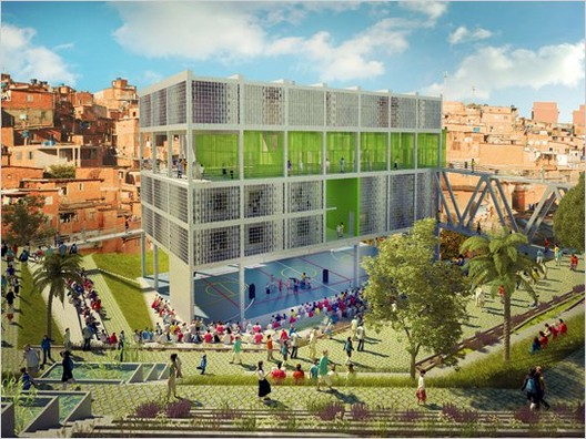 2nd prize - Courtesy of Alfredo Brillembourg and Hubert Klumpner, Urban Think Tank