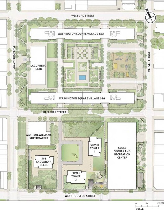 NYU's proposed development site as it exists now © The Metropolitan Art Society of New York