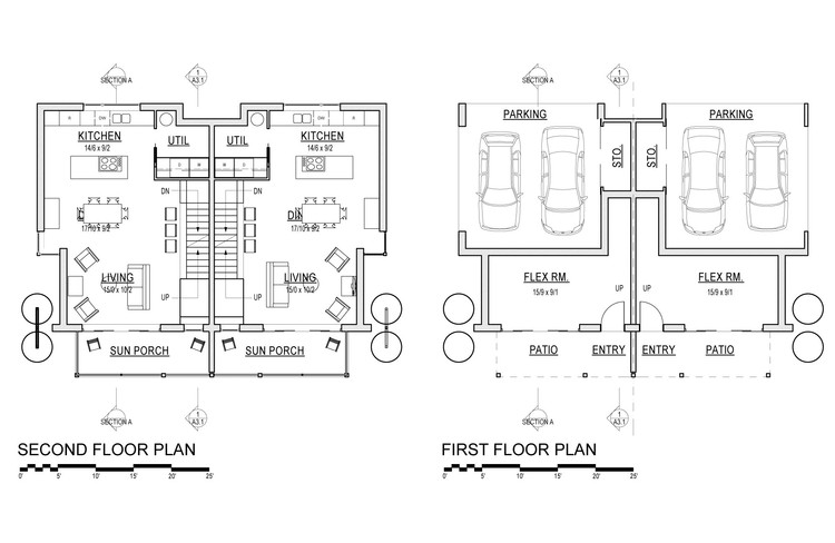 Plan 1.4 | Courtesy of David Vandervort Architects