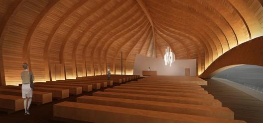 church room, from baptism room / © Sergio Capasso