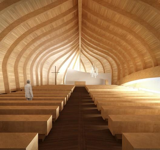 church room, from main entrance / © Sergio Capasso