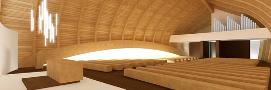 church room, from altar / © Sergio Capasso