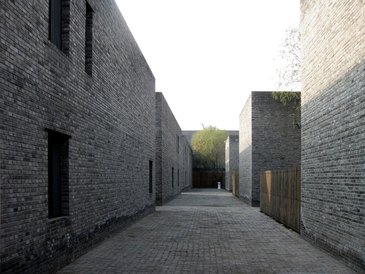 Grey Brick Courtyards