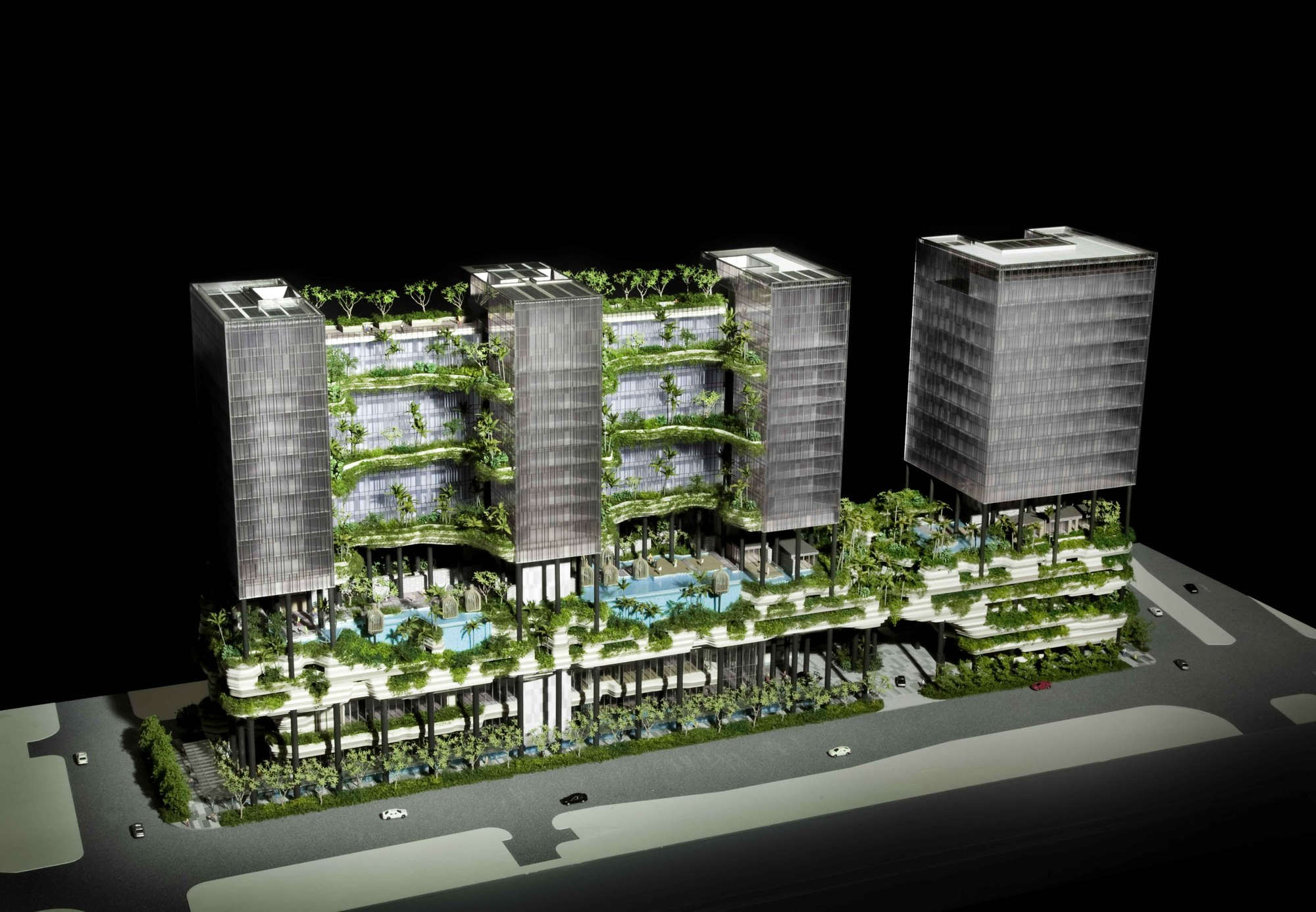 In Progress Parkroyal On Pickering Woha Archdaily