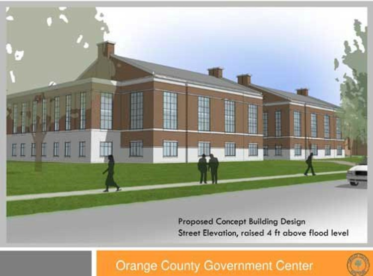 Orange County Executive Edward A. Diana's New Government Center Proposal