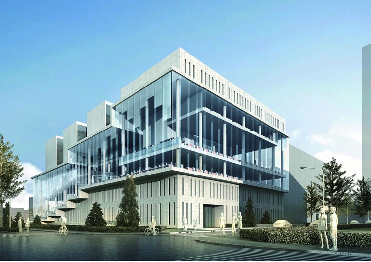 Courtesy of Zhubo Architectural & Engineering Design Co.