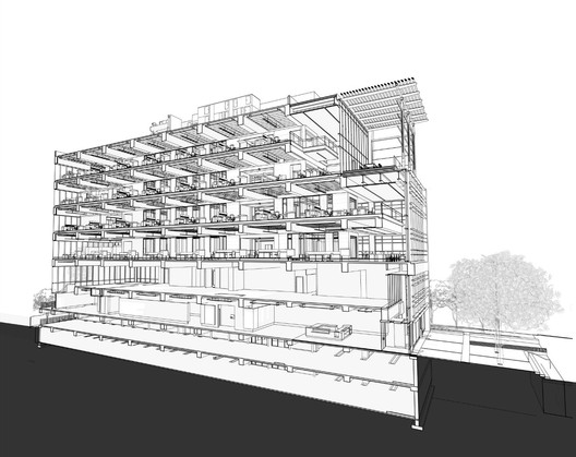 Section Perspective - Courtesy of Perkins + Will
