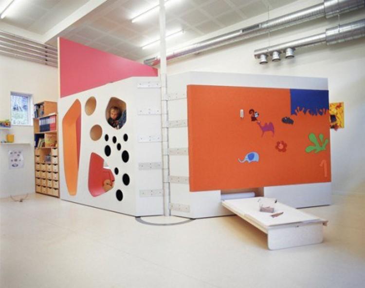 A Kindergarten by 70ºN Arkitektur in Norway © Ivan Brodey