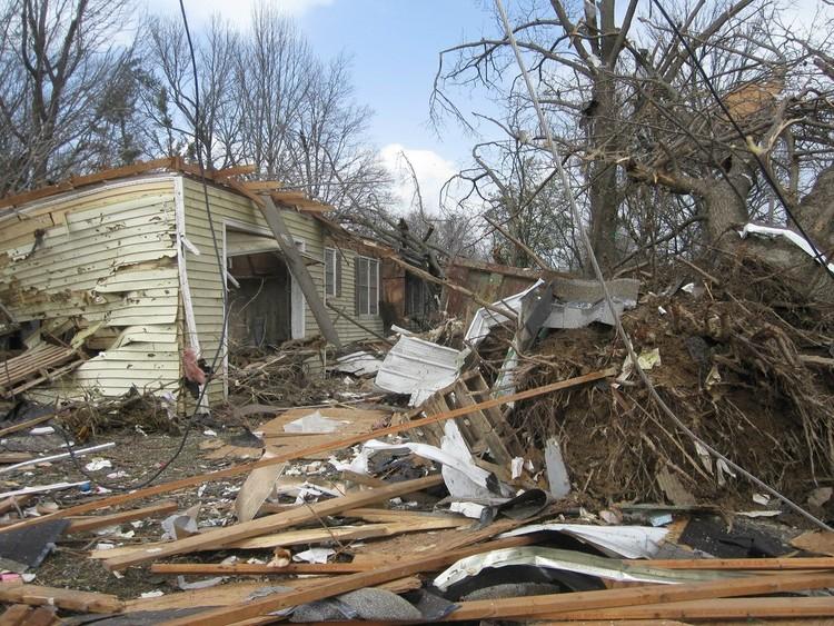Harrisburg, IL 2012 Tornado Damage © State Farm