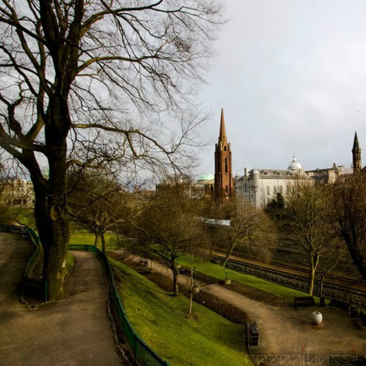 Existing Site – Images courtesy of Aberdeen City Garden Project