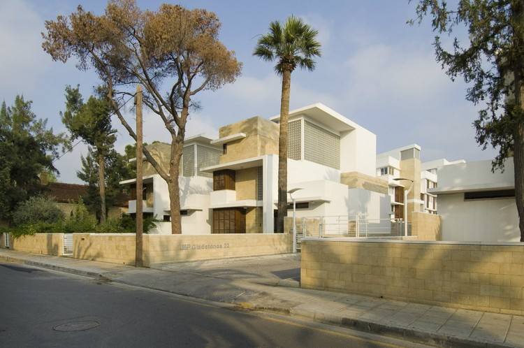Gladstonos 22 Private Residential Development in Nicosia, Cyprus © Theoharis David