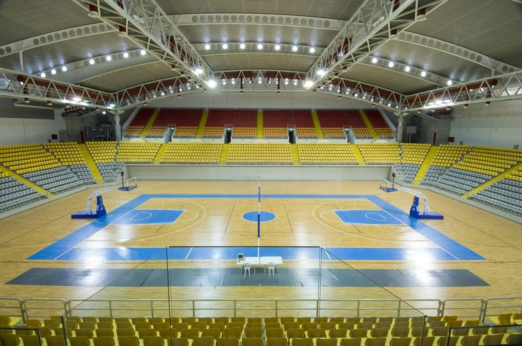 Spyros Kyprianou Athletic Center in Lemesos, Cyprus © Charalambos Artemis