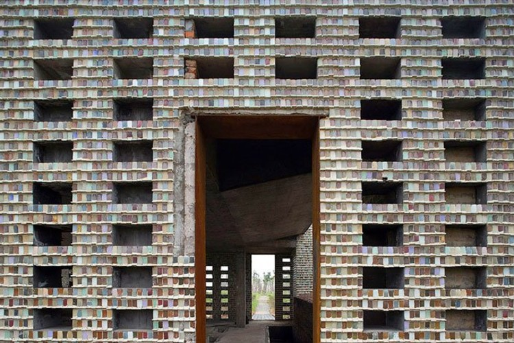Ceramic House in Jinhua Architecture Park | © Iwan Baan