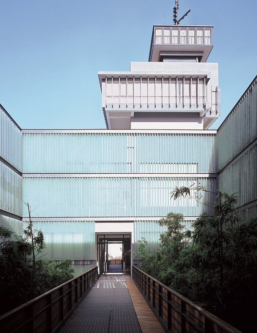 Ningbo Contemporary Art Museum © Lv Hengzhong, Courtesy of Amateur Architecture Studio