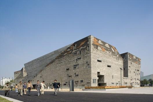Ningbo History Museum © Lv Hengzhong, Courtesy of Amateur Architecture Studio