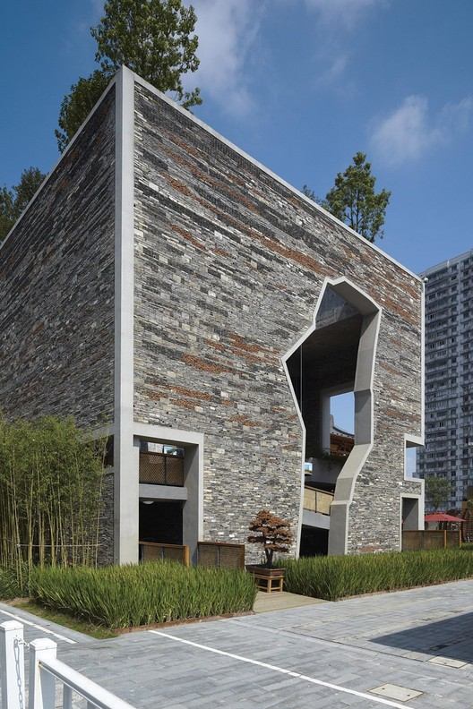 Ningbo Tengtou Pavilion, Courtesy of Amateur Architecture Studio