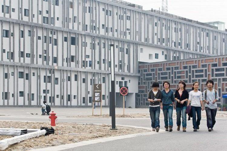 New Academy of Art in Hangzhou, photo © Iwan Baan