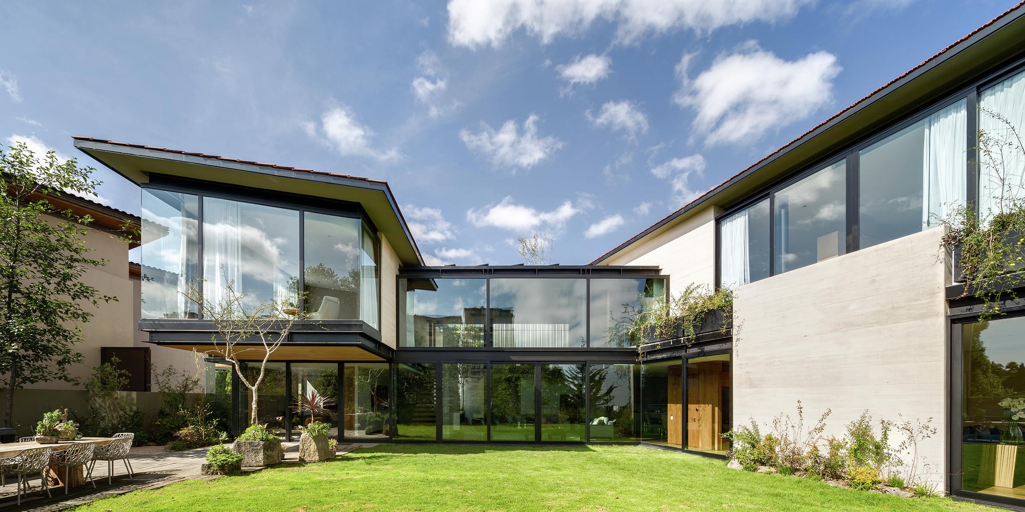 Casa v9 vgz arquitectura y dise o archdaily m xico - Arquitectura de diseno ...