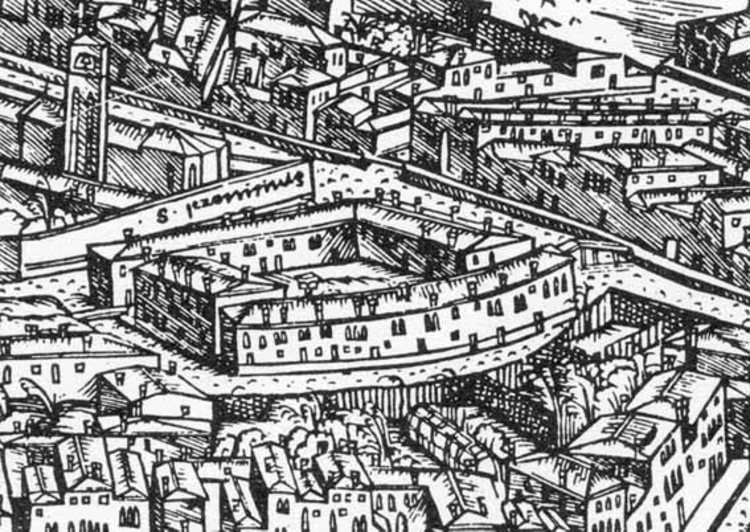 El gueto judío de la Venecia cristiana del siglo XVI. Image © Jacopo Barbieri