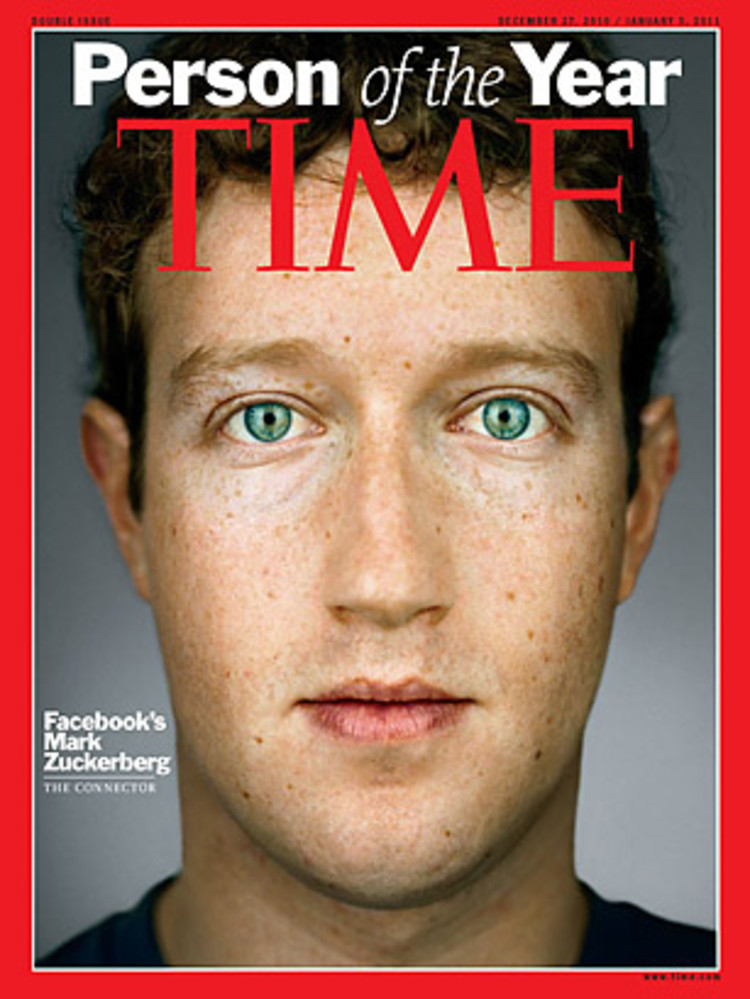 Mark Zuckerberg, Person of the Year 2010