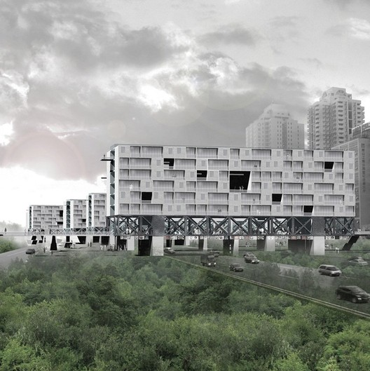 Courtesy of FangCheng Architects