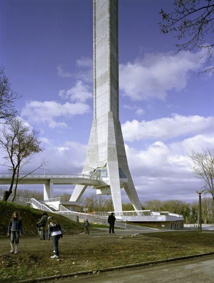 Avala TV Tower by architects: Ugljesa Bogunovic, Slobodan Janjic (photo by Wolfgang Thaler)