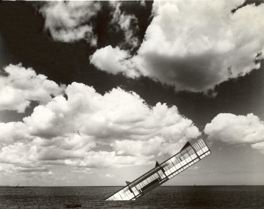 © Stanley Tigerman, American, born 1930, The Titanic, 1978, Photomontage on paper, Approx. 28 x 35.7 cm, Gift of Stanley Tigerman, 1984.802, The Art Institute of Chicago. Photography © The Art Institute of Chicago