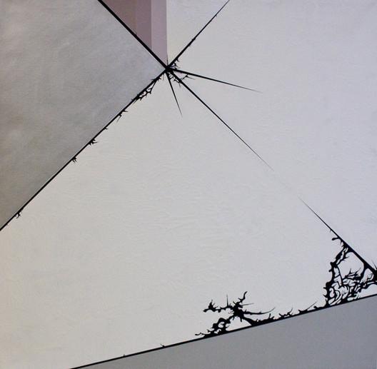 Diagram #31 (Milwaukee Art Museum/ Calatrava), Detail. Photo Credit: Brian Burkhardt