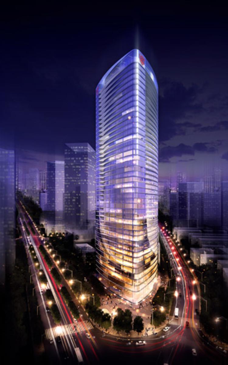 blue sky building project ksp juergen engel architekten archdaily. Black Bedroom Furniture Sets. Home Design Ideas