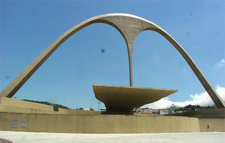 Stage in the Plaza of Apotheosis
