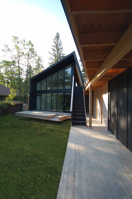 Webster Cottage, street view / © and courtesy of 5468796 architecture