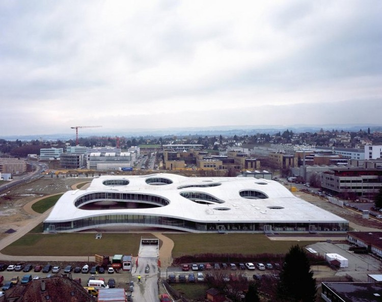 © Rolex Learning Center