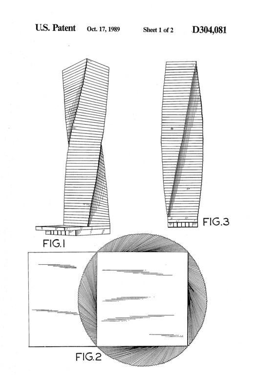 Courtesy of USPTO - Architectural Patent to Radu Vero