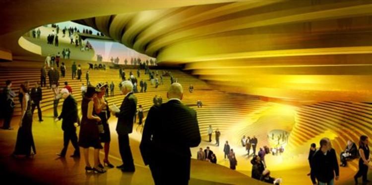 © Architecture: Herzog & de Meuron Project: Elbphilharmonie, Kaispeicher A, Hamburg/D Project Phase: Schematic Design Image by: Philipp Schaerer Date: 04/2005