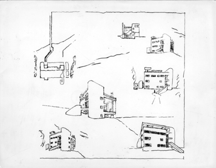 exterior sketches