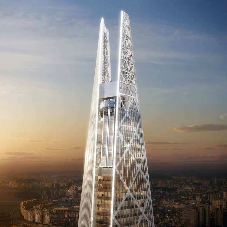 Lotte World Tower © KPF