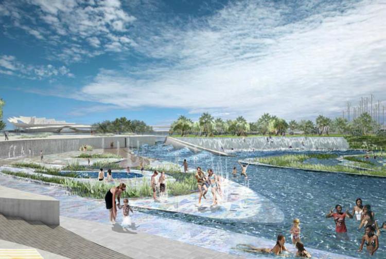 Water Park © Michael Maltzan Architecture