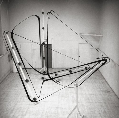 © Atelier Leitner - Sound Lines Sculpture 1972