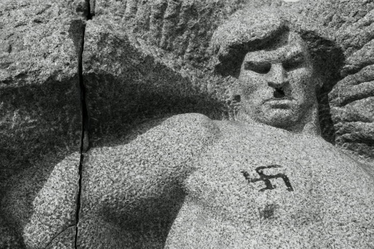 monument of the resistance, Vidin, 1963