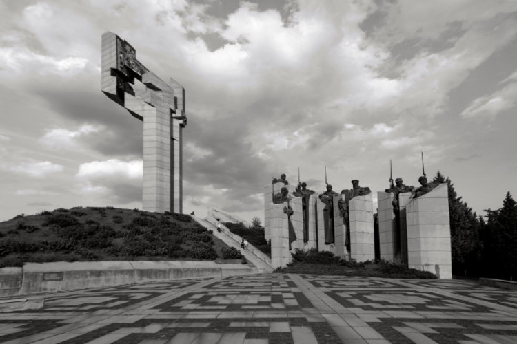 memorial complex the defenders of stara zagora, stara zagora, 1977