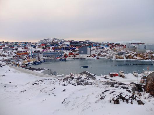 Greenland Migrating - Existing condition / Illustration Courtesy of Henning Larsen Architects
