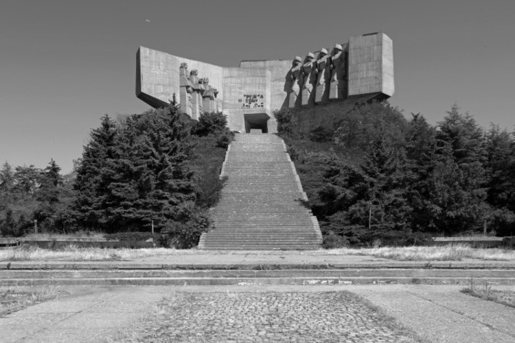 park  monument of the Bulgarian soviet friendship, Varna, 1978