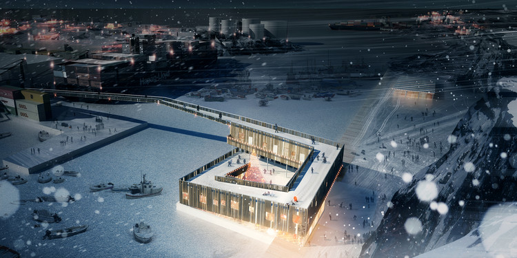 Greenland Migrating / Illustration Courtesy of Henning Larsen Architects