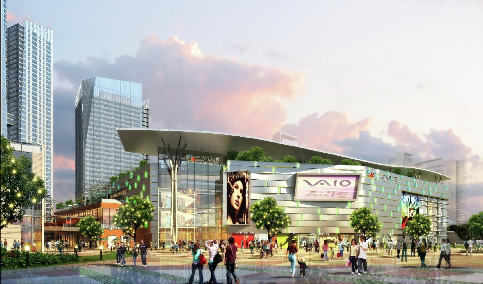 New chengdu city center rtkl archdaily for Landscape design center