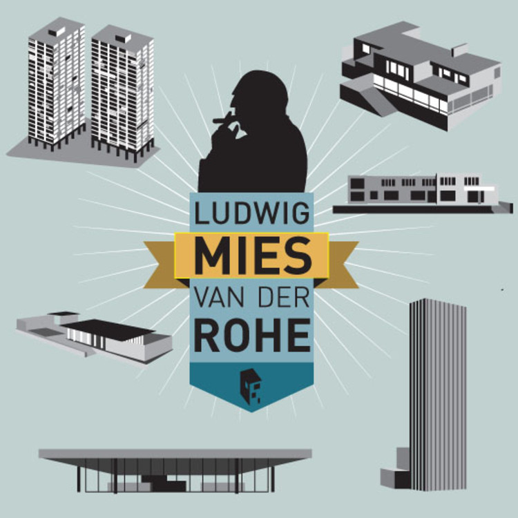 Infographic: Celebrating Mies van der Rohe