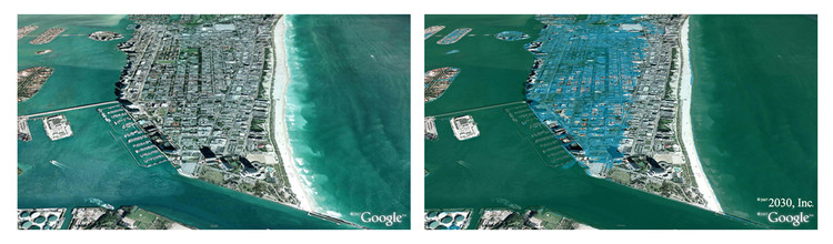 Miami, Florida © Architecture 2030 / Google Maps
